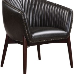 Black Accent Chair Universal Covers Anders Chenille From Uttermost