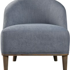 Silver Accent Chair Raise Office Height Nerine Blue From Uttermost Coleman