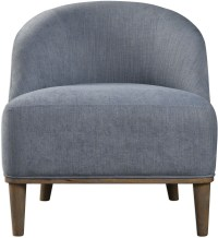 Nerine Silver Blue Accent Chair from Uttermost
