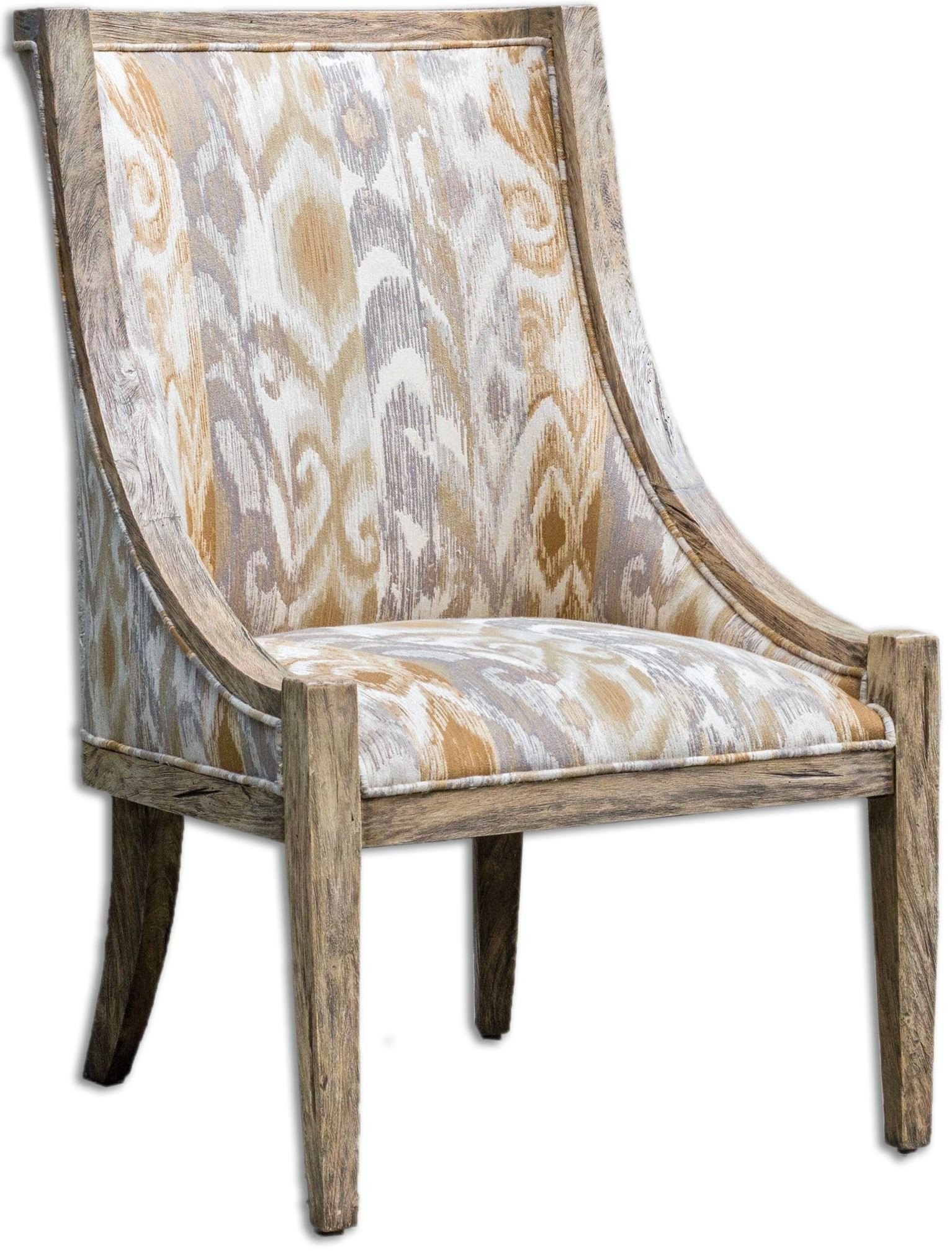 Driftwood Chair Alabaster Driftwood Accent Chair From Uttermost 23634