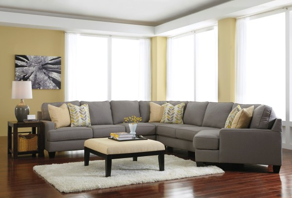 Chamberly Alloy Raf Cuddler Sectional Ashley 2430275 Coleman Furniture