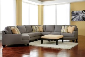Chamberly Alloy LAF Cuddler Sectional from Ashley 2430216 ...