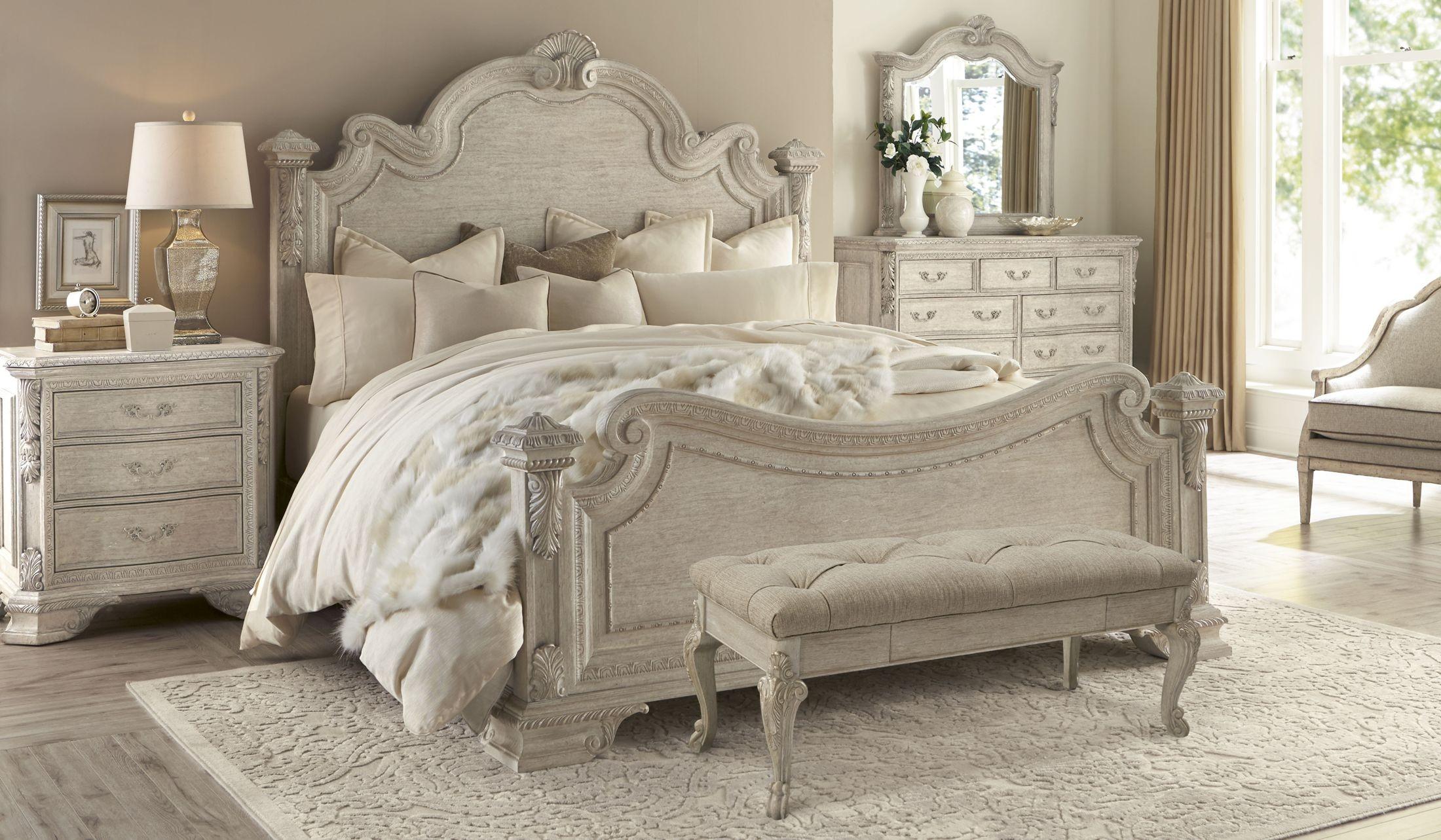 Renaissance Dove Grey Estate Bedroom Set from ART 243155
