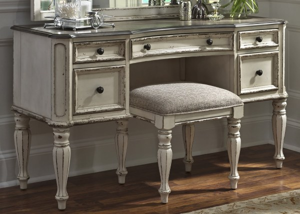 Magnolia Manor Antique Vanity Desk Liberty Coleman