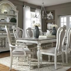 Antique White Chairs Wheelchair Left Magnolia Manor 108 Quot Extendable Rectangular