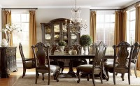 Gables Double Pedestal Extendable Dining Room Set from ART ...