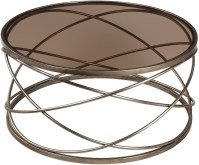 Marella Silver Iron Coffee Table, 24697, Uttermost