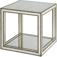 Julie Mirrored Accent Table from Uttermost