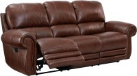 Rossi Light Brown Power Reclining Sofa from New Classic ...