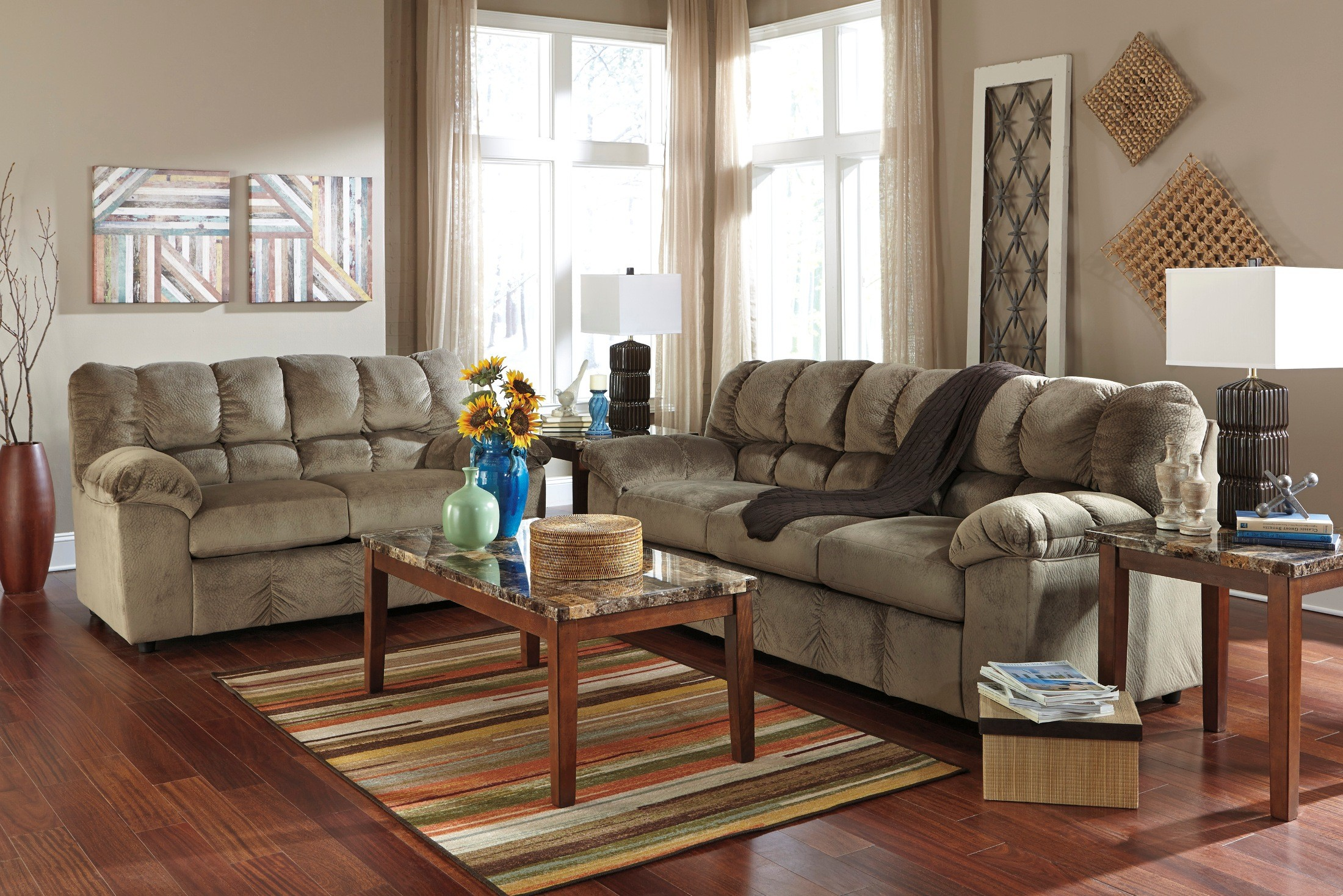 Julson Dune Living Room Set from Ashley 266013835  Coleman Furniture