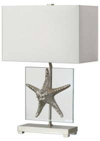 Silver Starfish Table Lamp from Uttermost (27101-1 ...