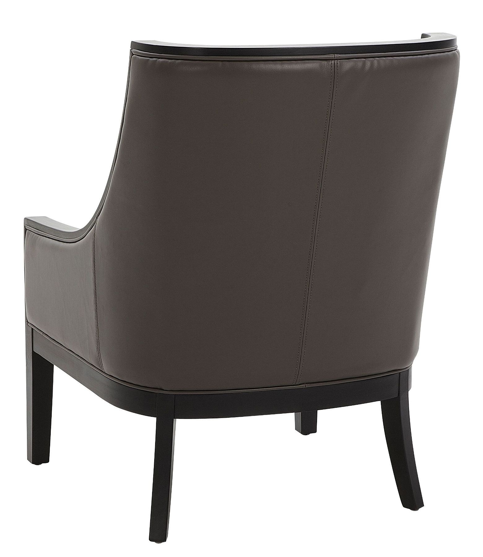 grey arm chair lowes folding chairs and tables cyrano leather from sunpan 27238