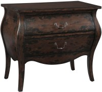 Brown and Black Bombay Chest from Hekman Furniture ...