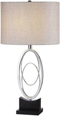 Savant Polished Nickel Table Lamp from Uttermost