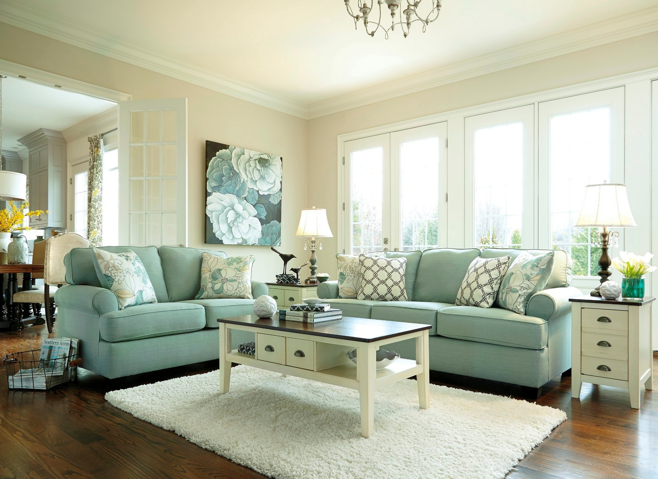 old fashioned looking sofas large cushions for sofa daystar living room set from ashley (28200-38-35 ...