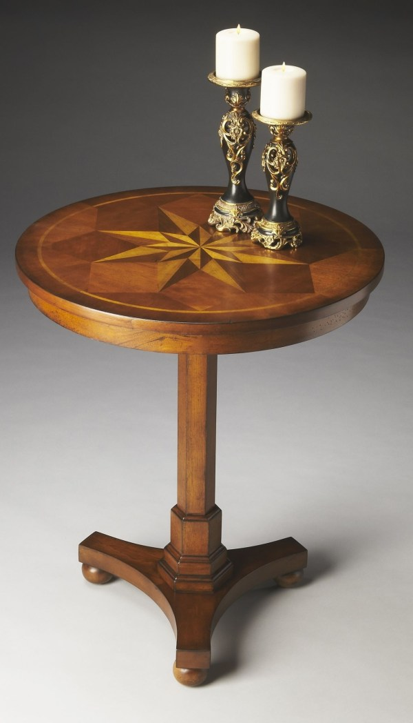 Masterpiece Antique Cherry Accent Table Butler