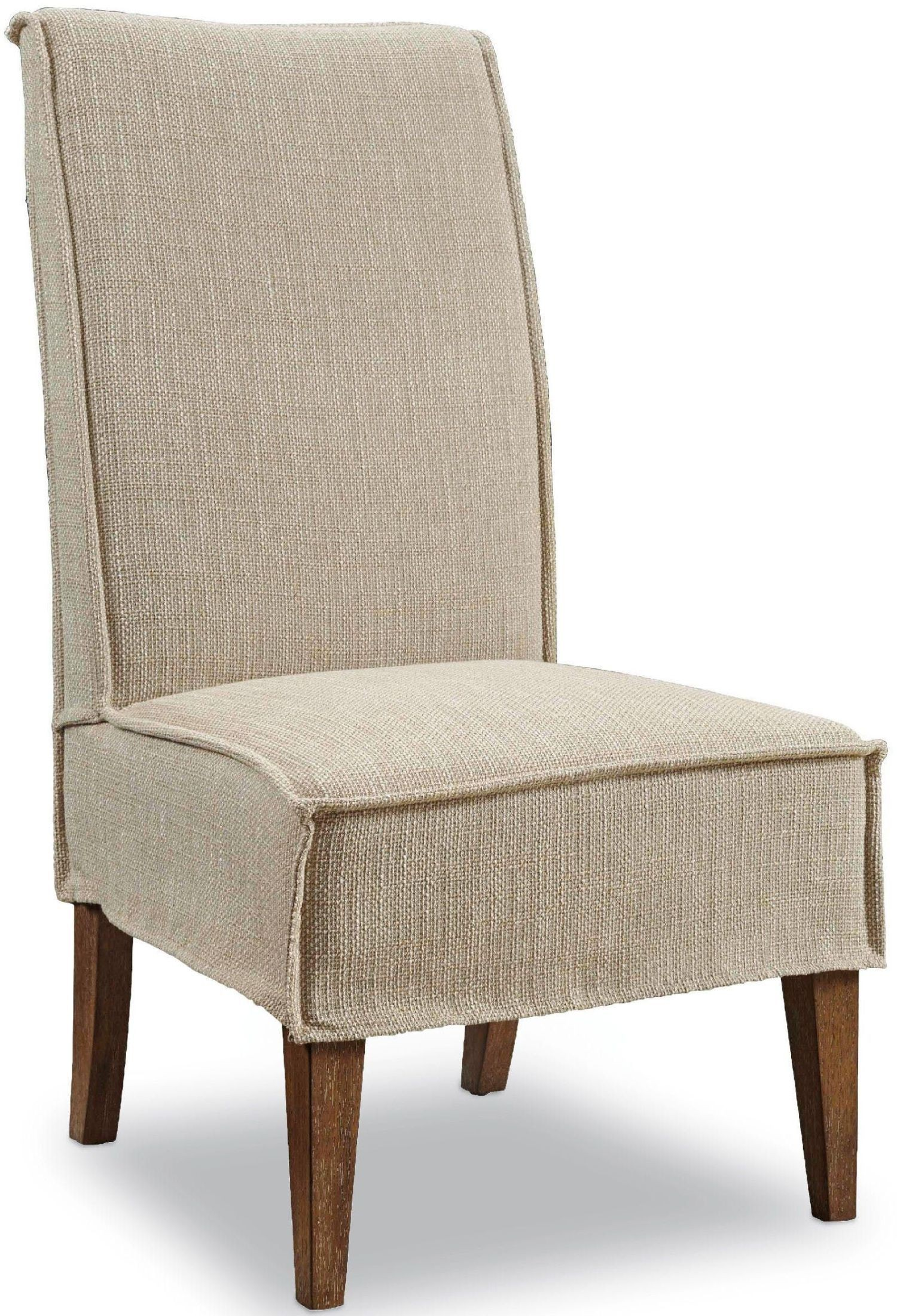 off white dining chair covers rent baby shower decorator beige mini slipcover set of 2 from