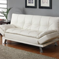 White Sectional Sleeper Sofa Clearance Beds Bed From Coaster 300291 Coleman Furniture