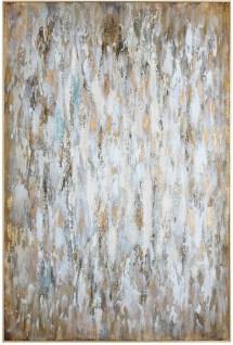 Bright Morning Gray Abstract Art Uttermost Coleman