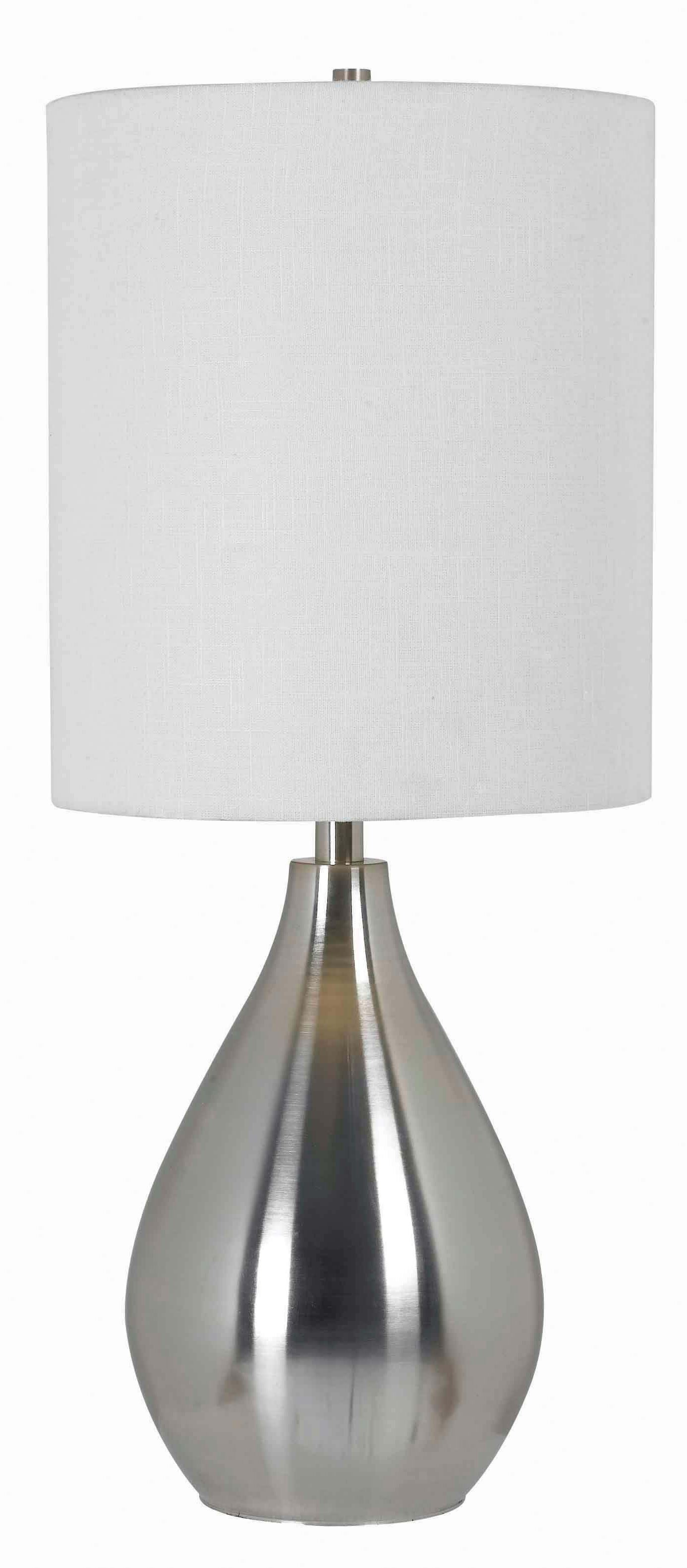 Droplet Table Lamp from Kenroy (32156BS)