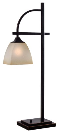Arch Table Lamp from Kenroy (32290ORB) | Coleman Furniture