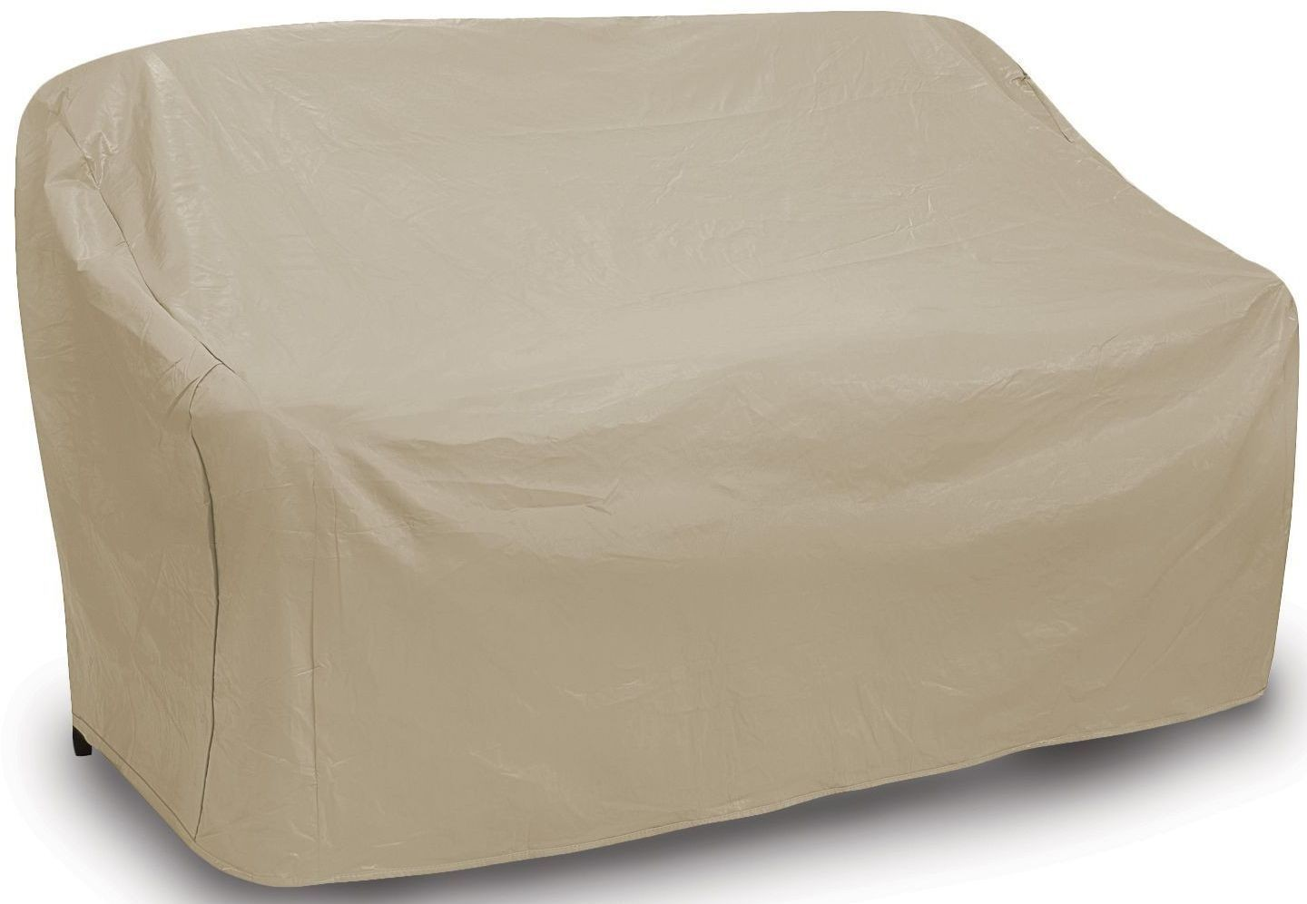 2 seater recliner sofa covers wooden designs with dimensions tan two seat wicker cover from pci outdoor
