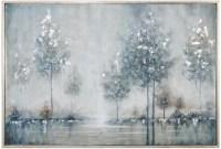 Walk In The Meadow Gray Landscape Wall Art from Uttermost ...