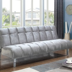Silver Sofas Toddler Flip Out Sofa Couch Bed From Coaster Coleman Furniture