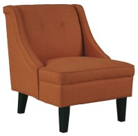 Clarinda Orange Accent Chair from Ashley (3623160 ...
