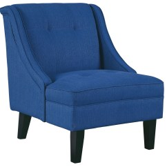 Accent Chair Blue Glider Clarinda From Ashley 3623260 Coleman