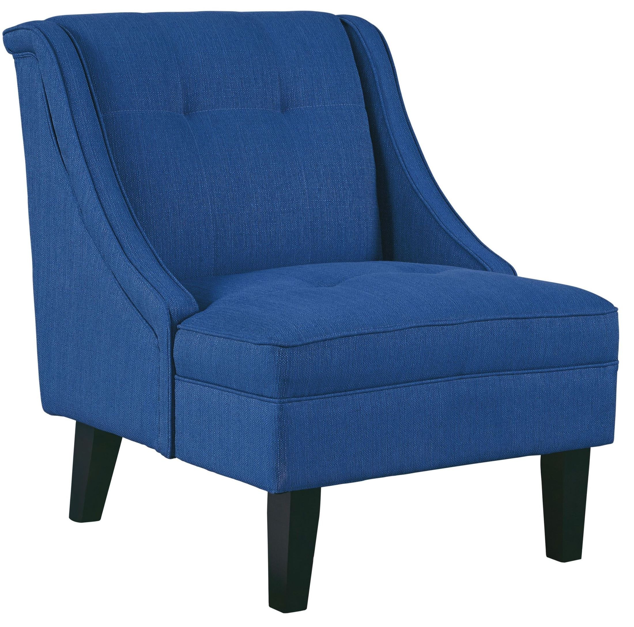 Blue Accent Chair With Arms Clarinda Blue Accent Chair From Ashley 3623260 Coleman