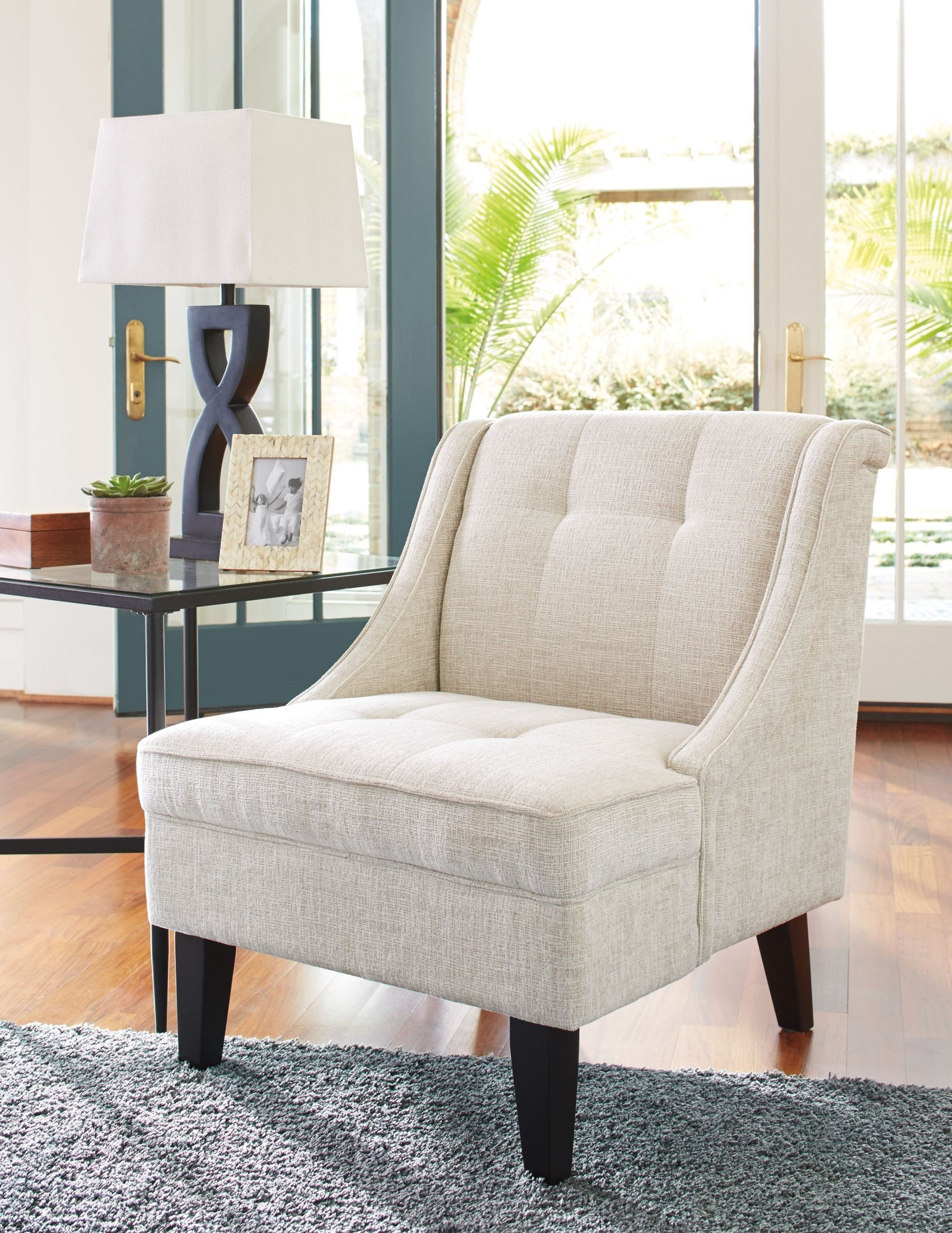 Cream Accent Chair Cerdic Cream Accent Chair 3640060 Ashley