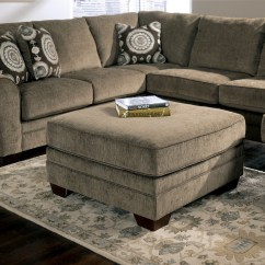 Cosmo Sofa Plum Colored Leather Marble Left Arm Facing Sectional 36901 16 34 67