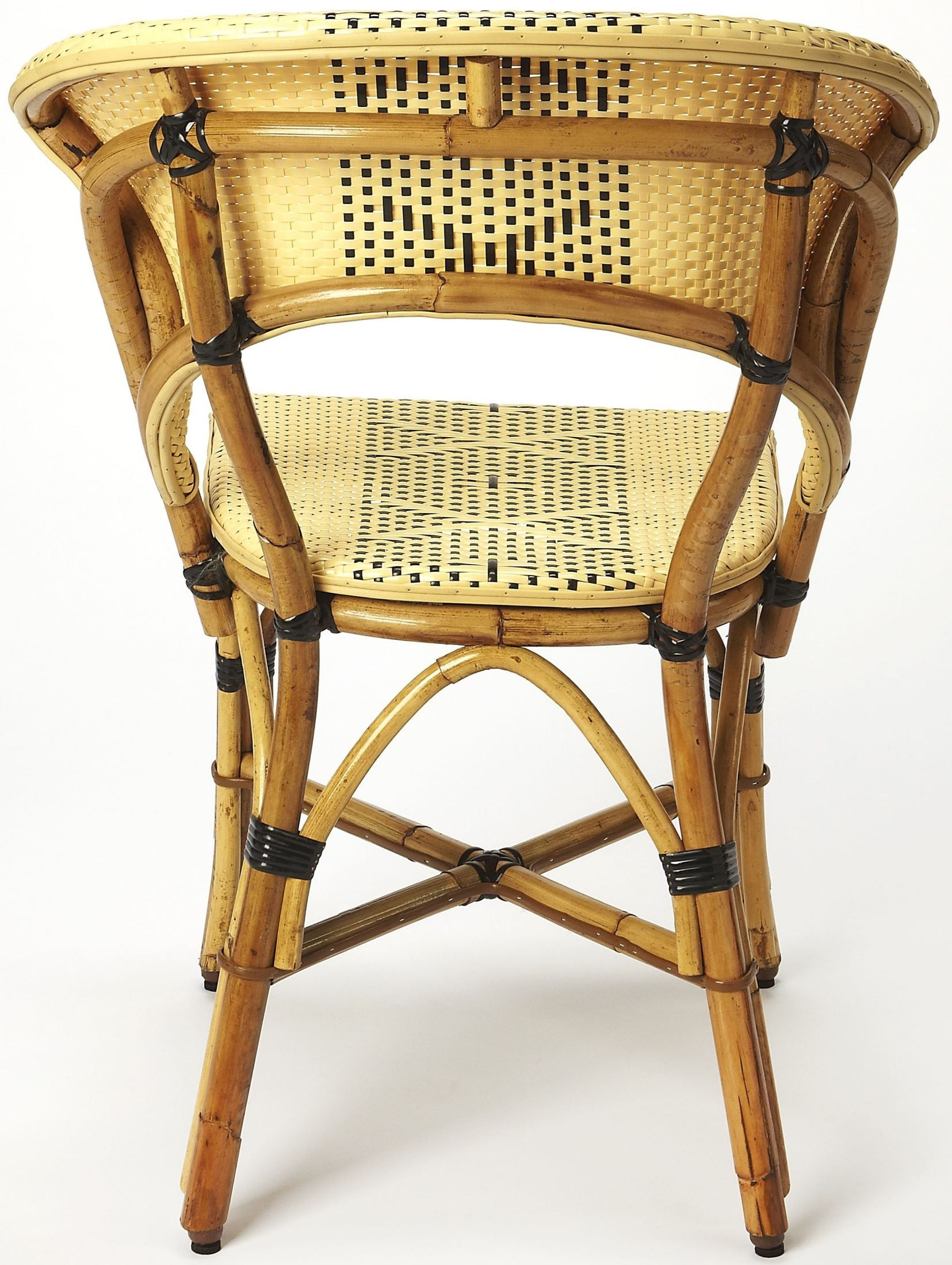 Wicker Side Chair Luna Rattan Side Chair 3709289 Butler