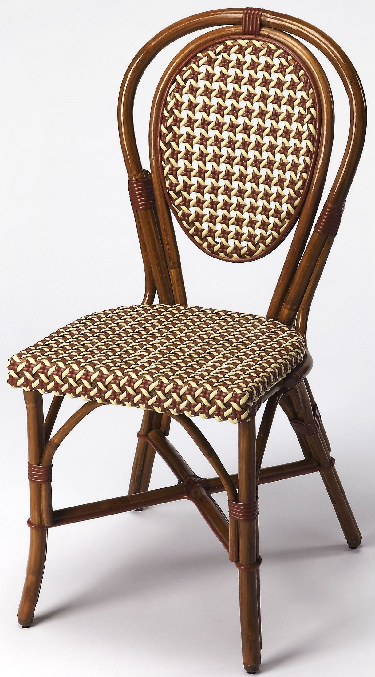 Wicker Side Chair Leena Rattan Side Chair 3710354 Butler