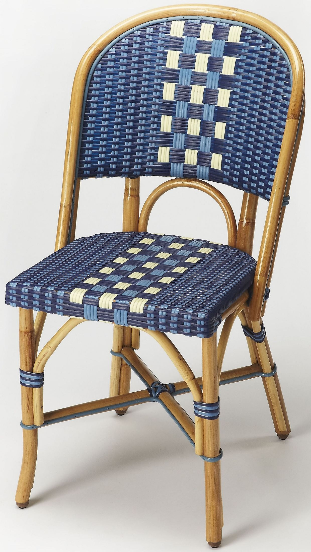 Wicker Side Chair Lotta Rattan Side Chair From Butler Coleman Furniture