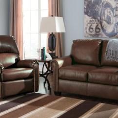 Ashley Furniture Durablend Sleeper Sofa Hans Wegner Ge 236 Lottie Chocolate Twin From