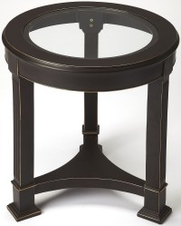 Metalworks Corinth Black Metal End Table from Butler ...