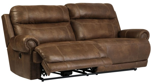 Austere Brown Reclining Sofa Ashley 3840081