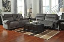 Austere Gray Reclining Sofa Ashley 3840181
