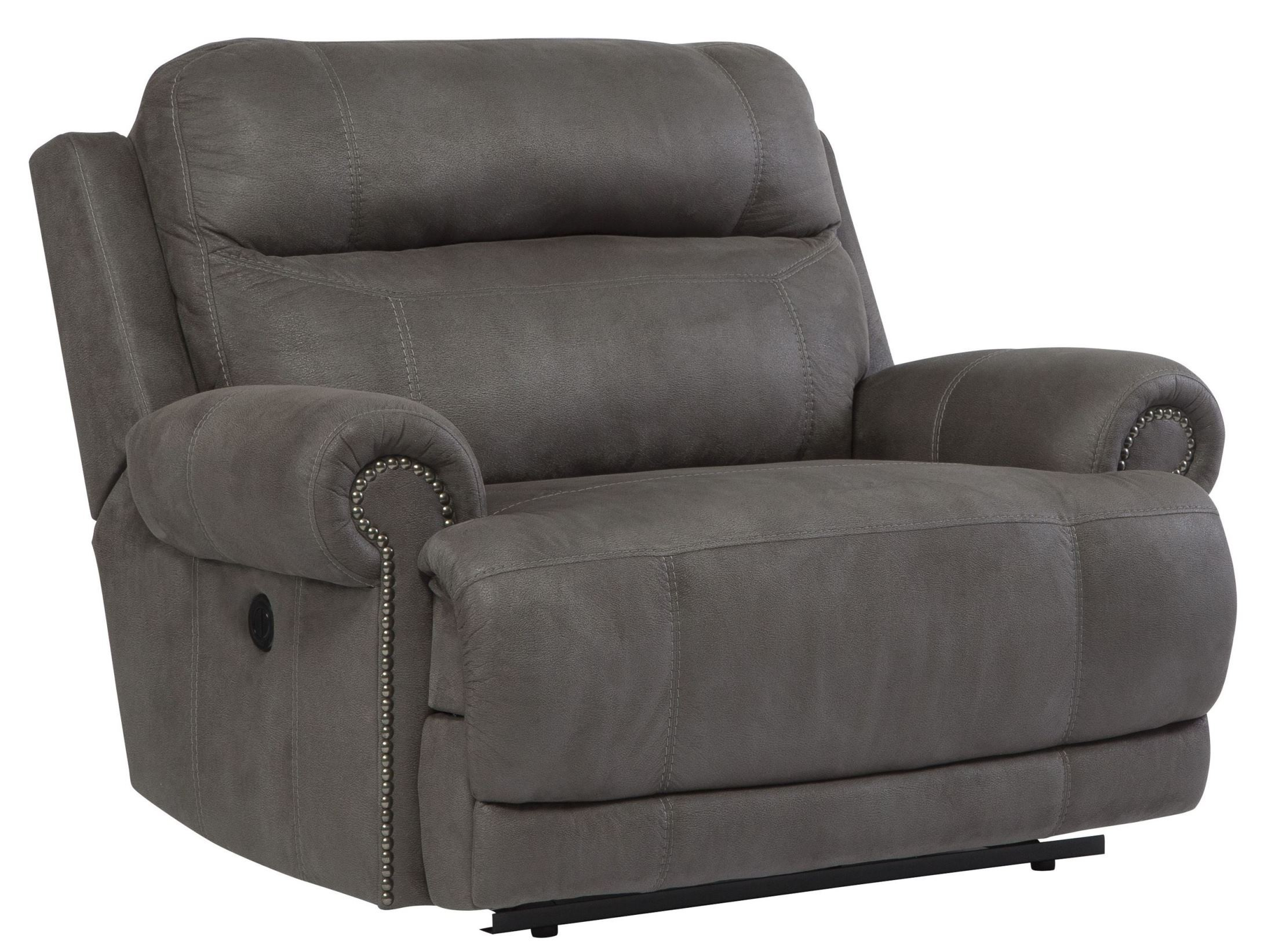 Gray Recliner Chair Austere Gray Zero Wall Wide Seat Recliner From Ashley
