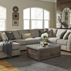 Sectional Sofa Corner Wedge Lazy Boy Furniture Leather Pantomine Driftwood Laf Large Chaise From Ashley ...