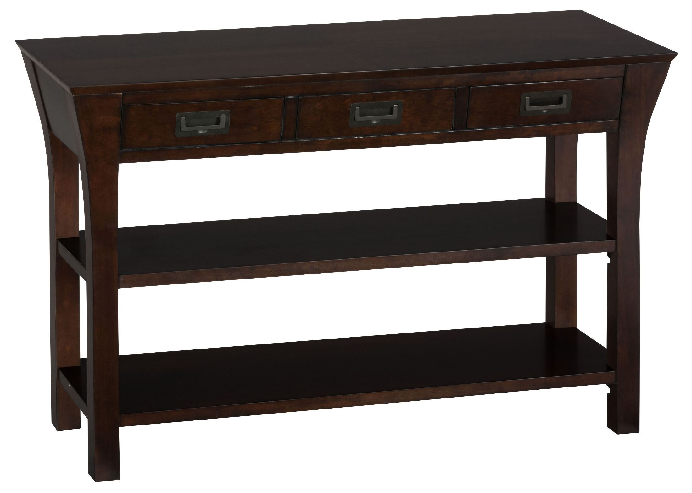 dark sofa tables sectional sofas okc artisan brown media table from jofran coleman
