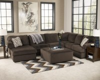 Jessa Place Chocolate Oversized Accent Ottoman from Ashley ...