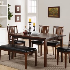 Espresso Table And Chairs Wheelchair Quotes 6 Pcs Dixon Dark Dining Room Set From New Classic