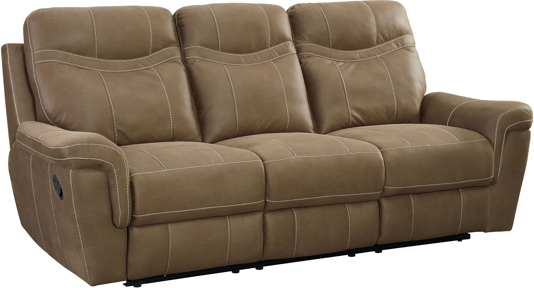 boardwalk sofa review wooden set latest design brown reclining from standard furniture