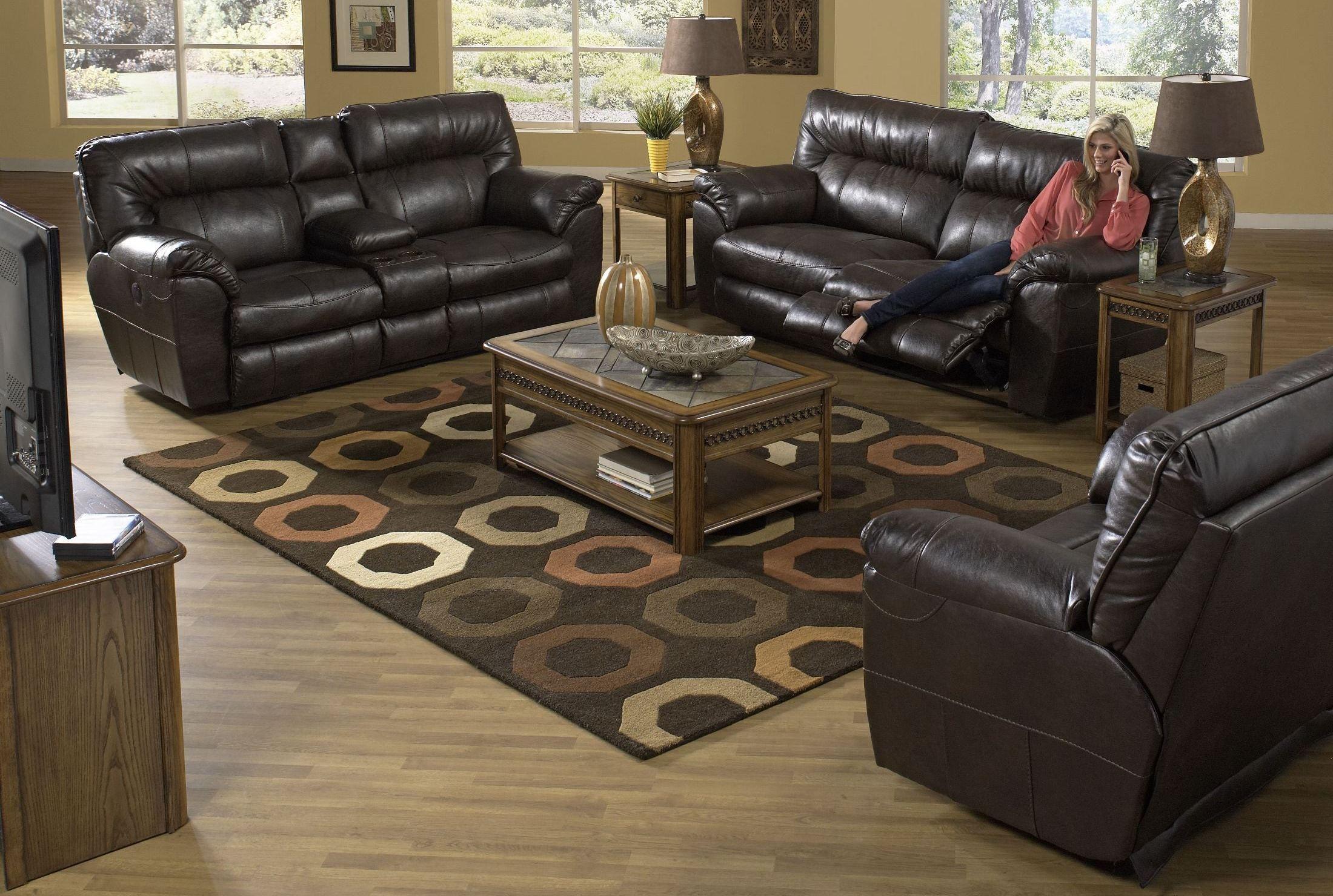 catnapper reclining sofa nolan designs wooden godiva living room set from