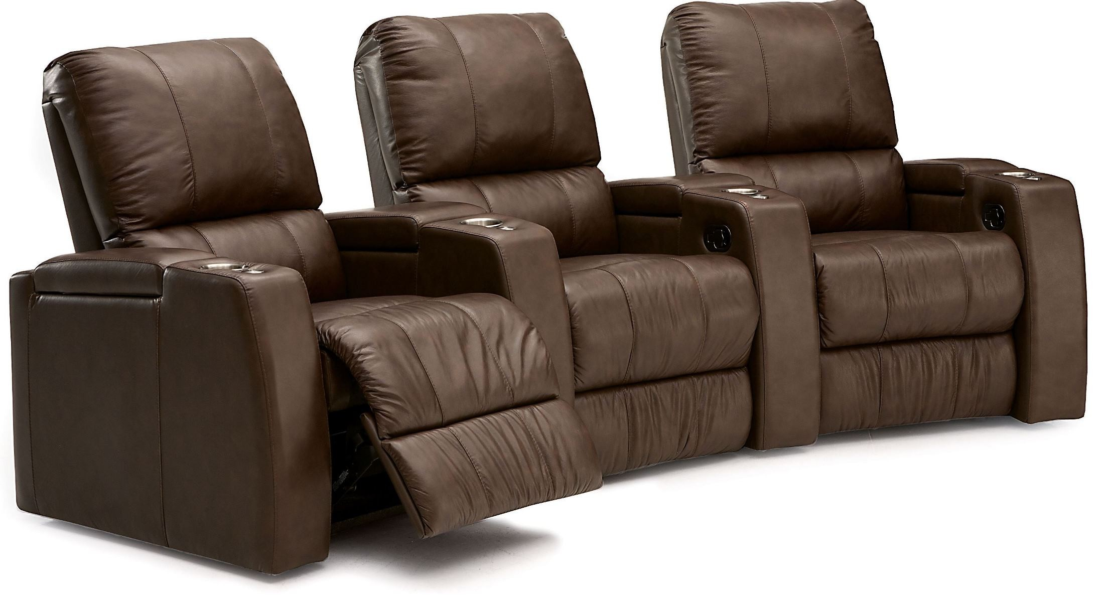 recliner chairs movie theater desk chair covers for sale playback leather home theatre seating psr 41403