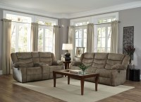 Ridgecrest Tan Reclining Living Room Set from Standard ...