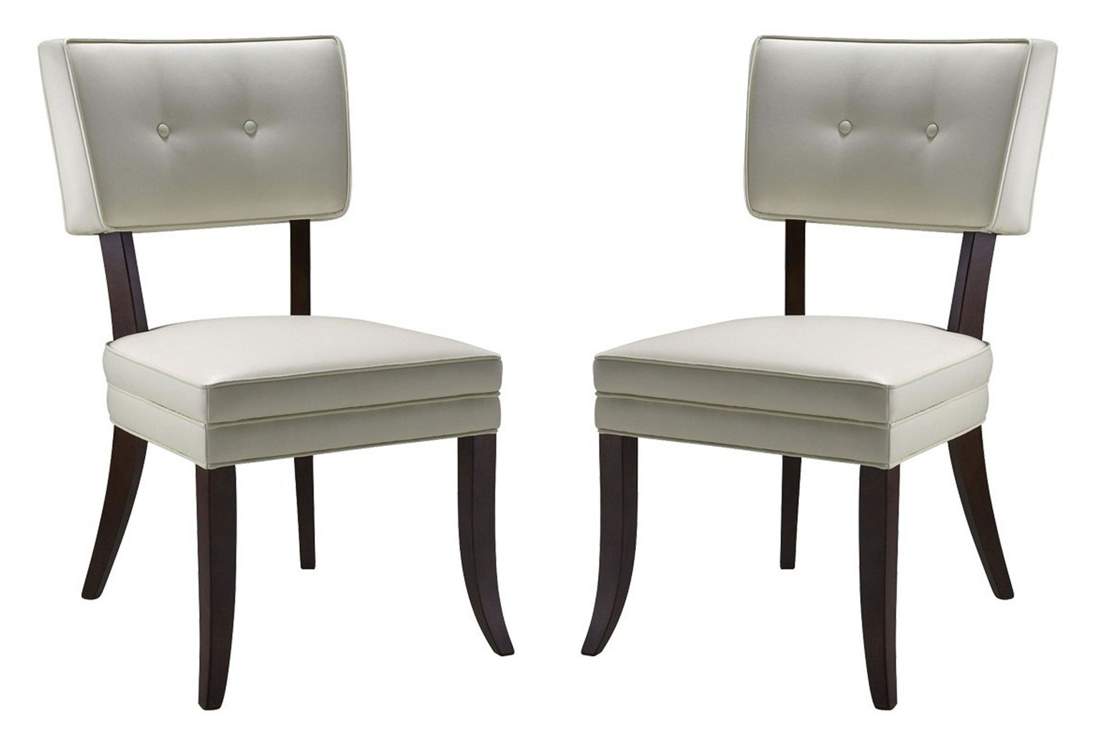 Ivory Dining Chairs Amelia Ivory Dining Chair Set Of 2 From Sunpan 43706